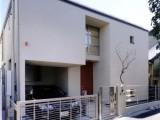 コの字型パティオのある家:外観